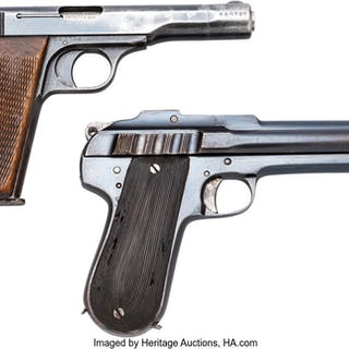 Lot of Two Semi-Automatic Pistols. ... (Total: 2 Items)
