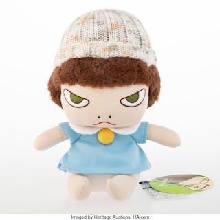 Yoshitomo Nara X Sun Arrow Walk On (Doll), 2002 Polyester plush toy