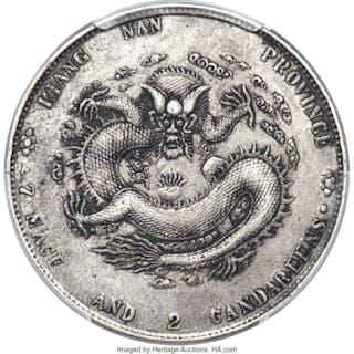 Kiangnan. Kuang-hsü Dollar CD 1904 XF45 PCGS,...