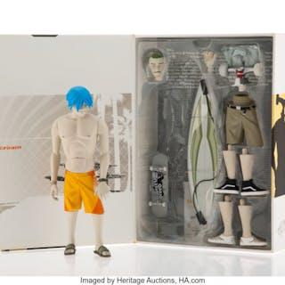 Coarse Toys X Vans Flake, Fluid, Float (Cream), 2003 Painted cast