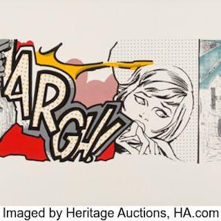 Crash (John Matos) (b. 1961) Up in Arms, 2003 Screenprint in color