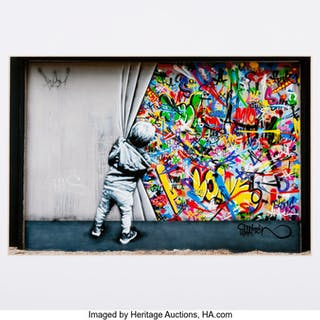 Martin Whatson (b. 1984) Mural, 2018 Archival pigment print in colors