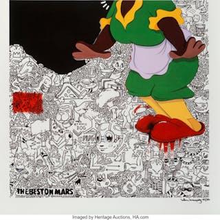 Hebru Brantley (b. 1981) But Still I Love, 2013 Digital print in colors