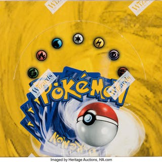 Pokémon Unlimited Edition Base Set Sealed Booster Box (Wizards of