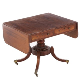 Regency Rosewood Sofa Table, Early 19th Century