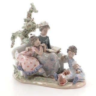 "Lladró ""Family Roots"" Porcelain Figurine Designed by Antonio Ramos"
