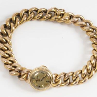 JAEGER-LECOULTRE Montre pour dame en or jaune 14k (585...