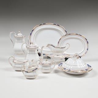 Spode, Spode Porcelain Service, Stafford Blue Leaf, Stafford Blue Leaf