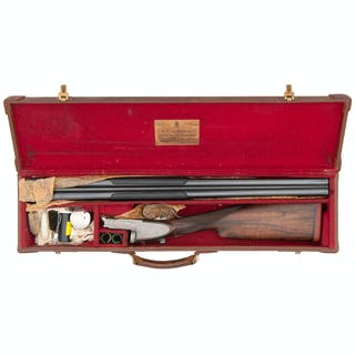 ** Churchill XXV Premiere Pinless Sidelock Shotgun
