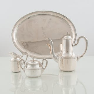 Bruckmann and Söhne, Bruckmann and Söhne .800 Silver Coffee Set