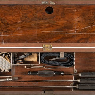 Late Nineteenth Century Medical Kit Containing H.G. Kern and Tafel