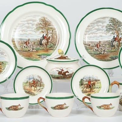 Copeland Spode, Copeland Spode Service, Decorated After Herring
