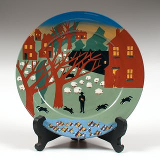 Vaughan Smith (American, 20th-21st Century) for Westcote Bell Pottery
