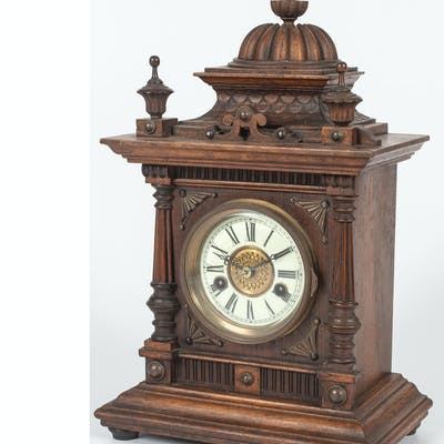Greenwich Mantel Clock, by W.E. Watts