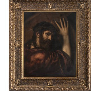 After Titian, Portrait of Christ Carrying the Cross