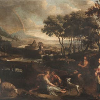 School of Peter Paul Rubens, Pastoral Landscape