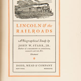 Abraham Lincoln, Four Late 19th-Early 20th Century Biographies