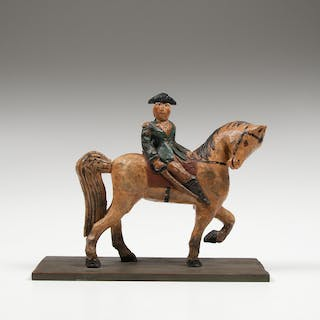 George Washington Carved Folk Art Figure