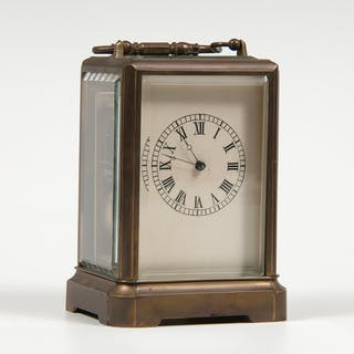 Japy Freres, Japy Freres Brass Carriage Clock