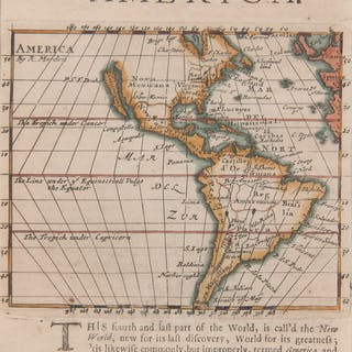 Late 17th-Early 18th Century Maps of North America, Lot of Two