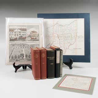 Ohio-Related Books, Maps, and Print
