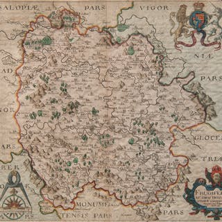 British, European, and Oriental Maps, Lot of Five