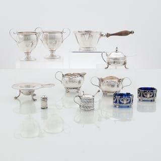 American and British Sterling Tablewares, Plus