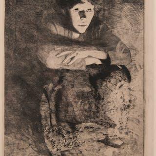 Albert Besnard (French, 1849-1934) Etching