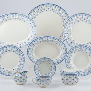 Spode Fleur-de-Lis, Spode Fleur-de-Lis Tableware