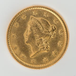 United States Gold Dollar Type 1 1851