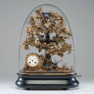 Blaise Bontems Automaton and Clock with Dome