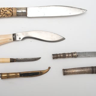 Lot of Four Knives