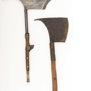 Lot of Two Philippine Axes