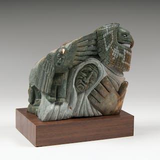Cleveland Sandy (Canadian, 20th Century) Soapstone Sculpture