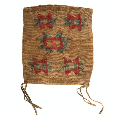 Nez Perce Cornhusk Bag, From the James B. Scoville Collection