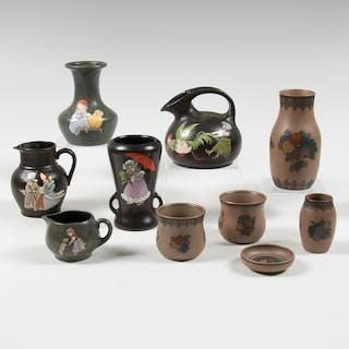 Teplitz, Teplitz and L. Hjorth Pottery Sets, L. Hjorth
