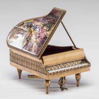 Austrian Piano Music Box