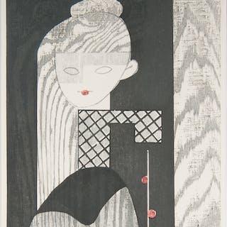 Jun'ichiro Sekino (Japanese, 1914-1988) Woodcut