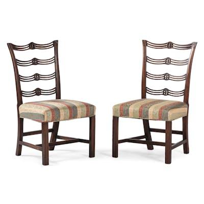 Rare Philadelphia Chippendale Side Chairs, Attr. Daniel Trotter