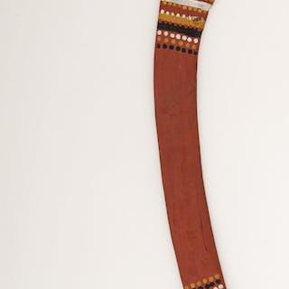 Painted Australian Hunting Boomerang