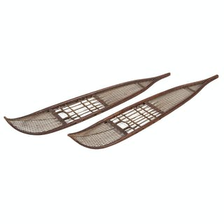 Athabaskan Wood Snowshoes, From the James B. Scoville Collection
