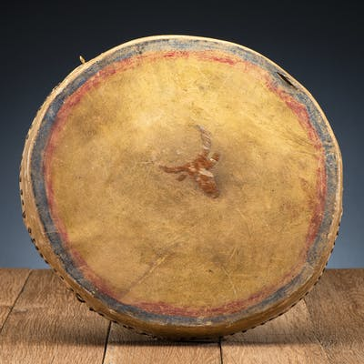 Sioux Painted Drum, From the James B. Scoville Collection