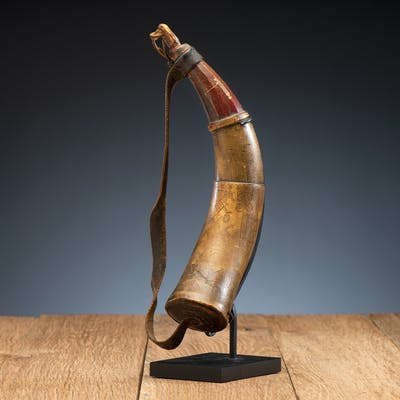 Penobscot Powder Horn, From the James B. Scoville Collection