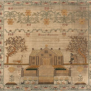 1796 Petit Point Sampler