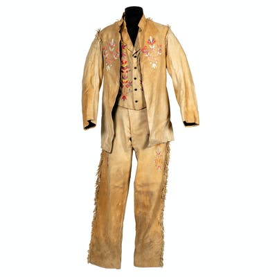 Metis Quilled Hide Suit