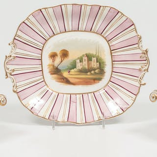 Paris Porcelain Serving Bowls and Dish