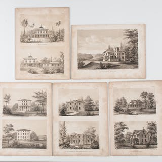 Architectural Engravings and Drawings, Plus