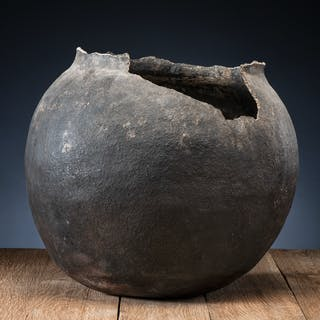 Pueblo Pottery Storage Jar