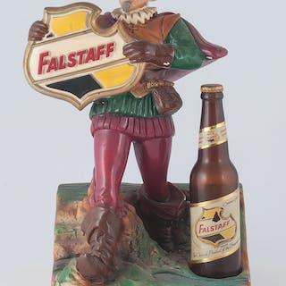 Falstaff, Falstaff Beer Countertop Display Figure with Bottle
