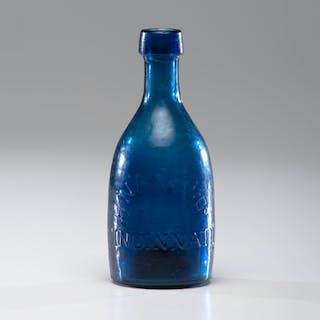 Early Cincinnati Glass Bottle, H. Nash & Co. H. Nash & Co